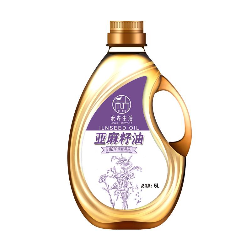 禾卉亚麻籽油5L/桶(桶)