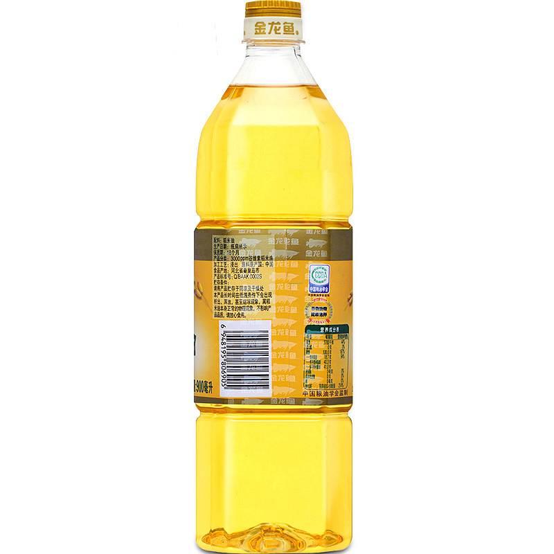 金龙鱼 3000pm谷维素稻米油 900ml/瓶 (非转基因) (单位:瓶)