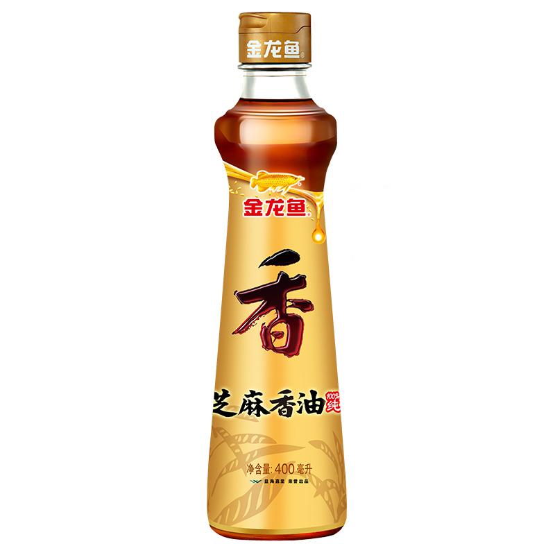 金龙鱼 芝麻油 400ml/瓶 (非转基因) (单位:瓶)