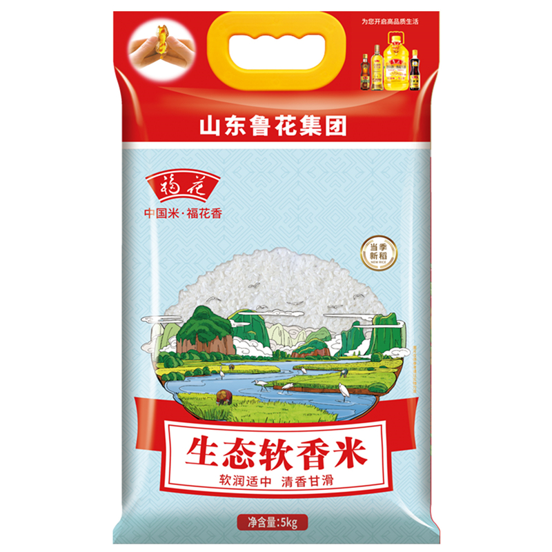 福花 生态软香米 5kg/袋 (单位:袋)
