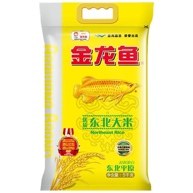 金龙鱼东北优质粳米5kg(单位:袋)