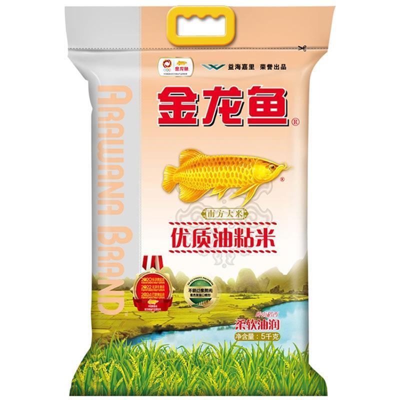 金龙鱼 优质油粘米 5kg/袋 (单位:袋)