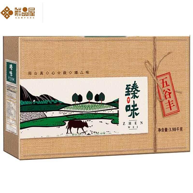 瑧味鲜品屋五谷丰杂粮礼盒3980g(盒)