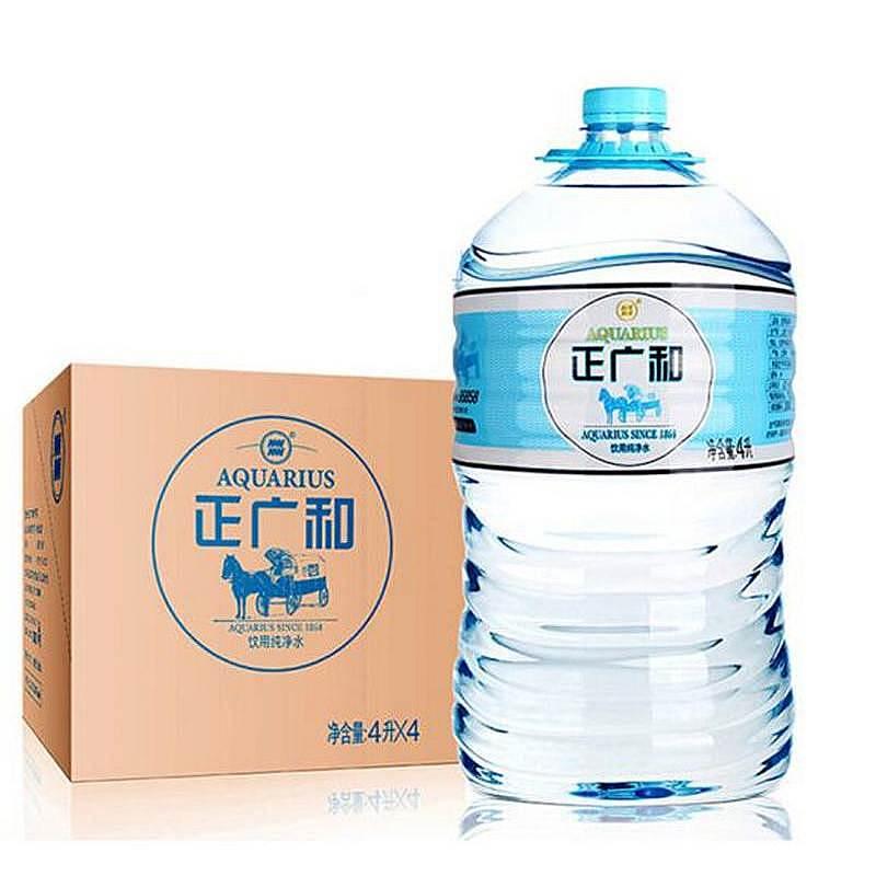 正广和 4L 纯净水 (箱)