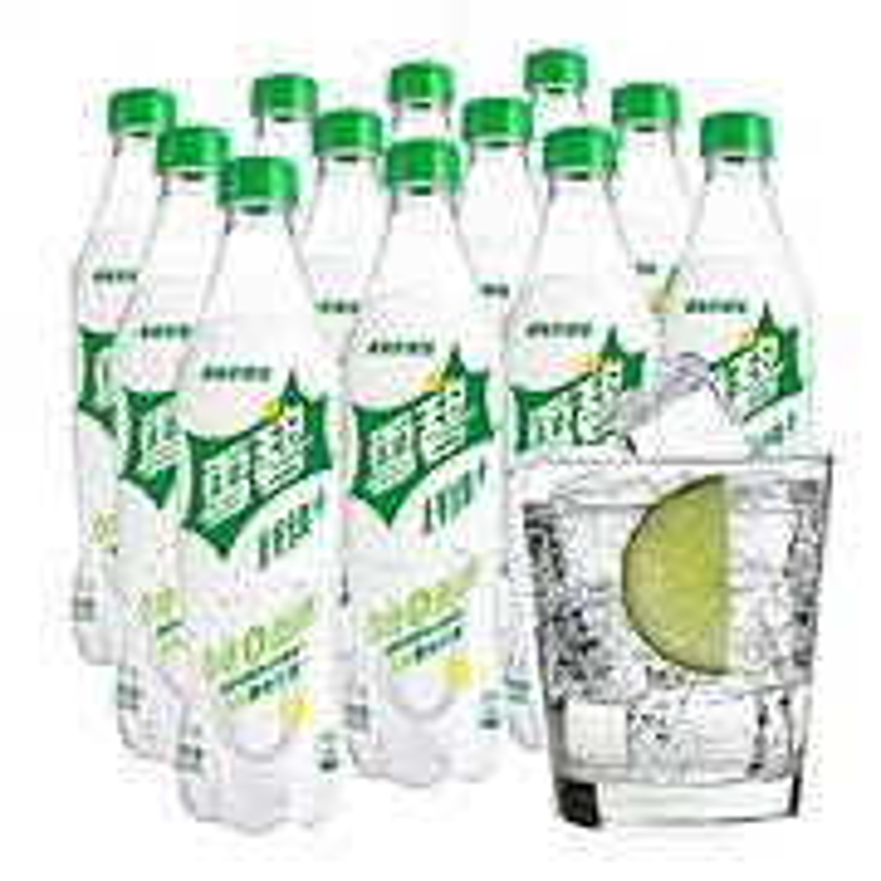 雪碧纤维+柠檬味汽水(500ml*12瓶/箱)