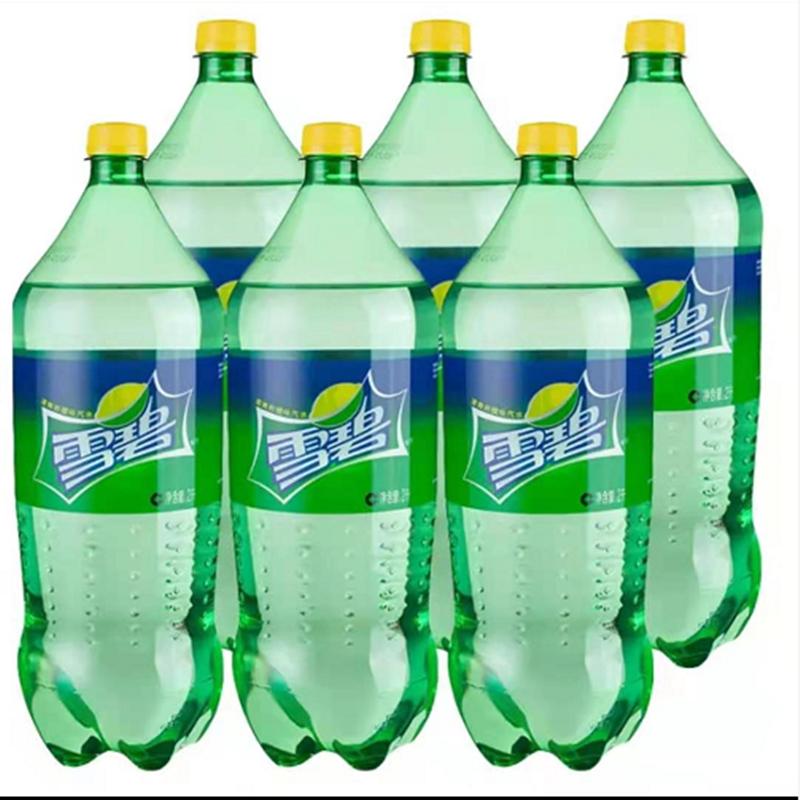 雪碧汽水碳酸饮料2L*6瓶(箱)(北京专供)
