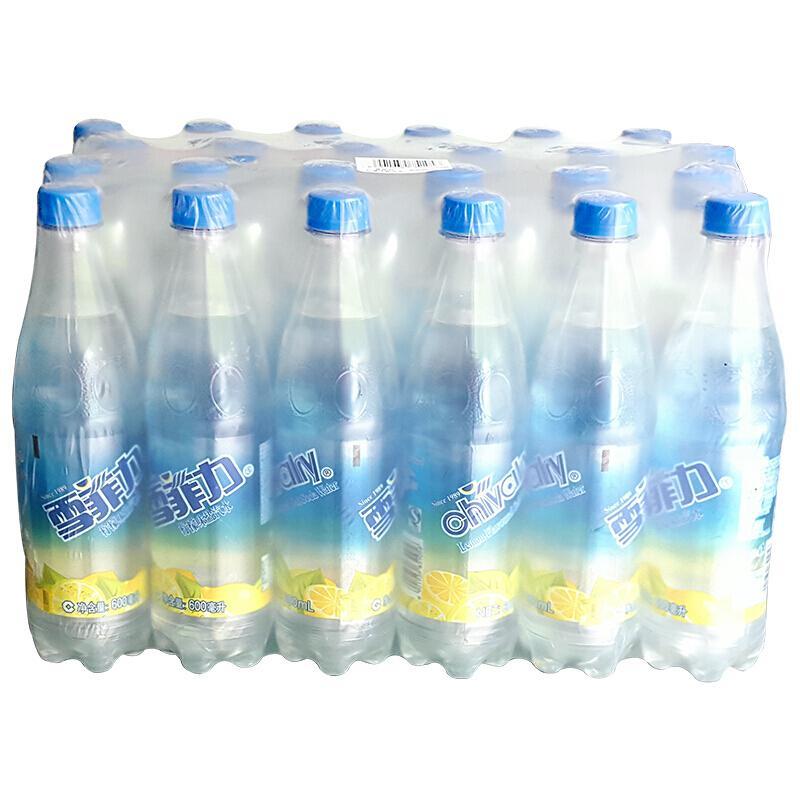 雪菲力盐汽水600ml*24瓶(单位:箱)