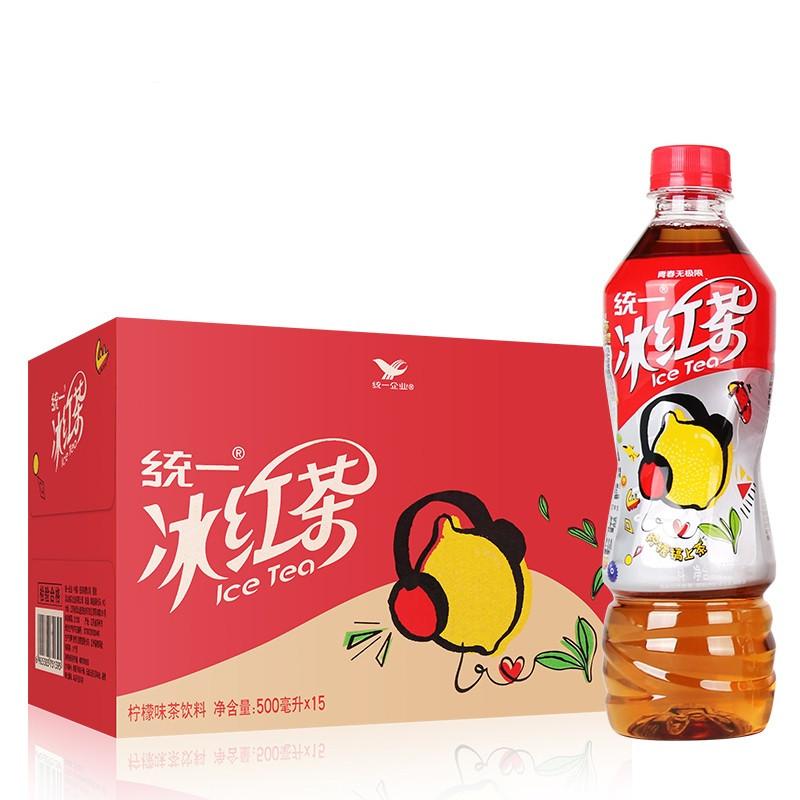 统一 冰红茶 500ml*15瓶/箱 (单位:箱)