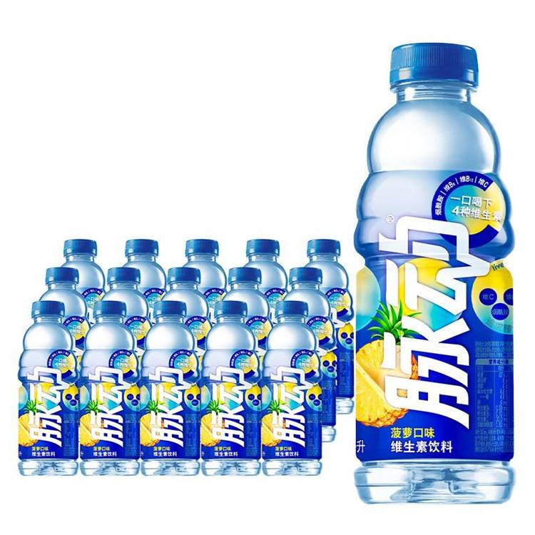 脉动 维生素饮料椰子菠萝味 600ml*15瓶/箱 (单位:箱)