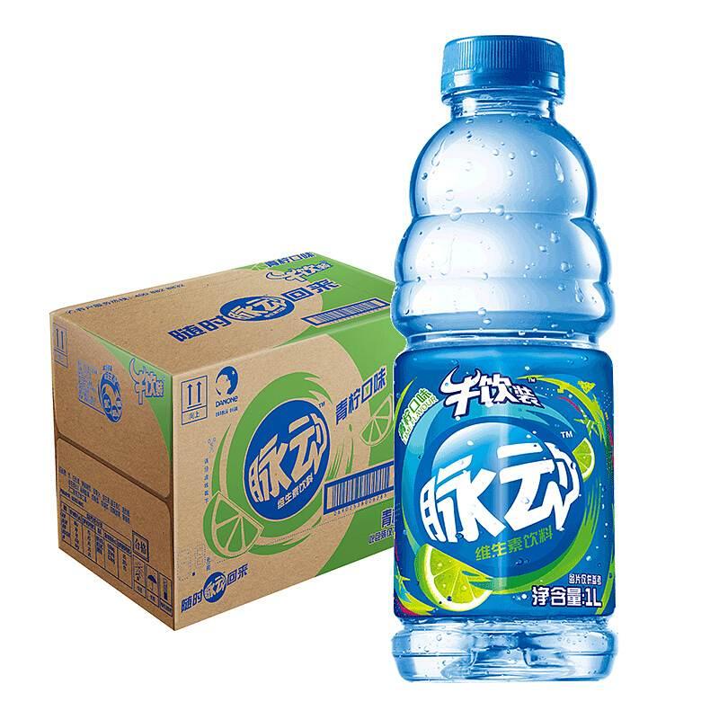 脉动 维生素饮料青柠味 1L*12瓶/箱 (单位:箱)
