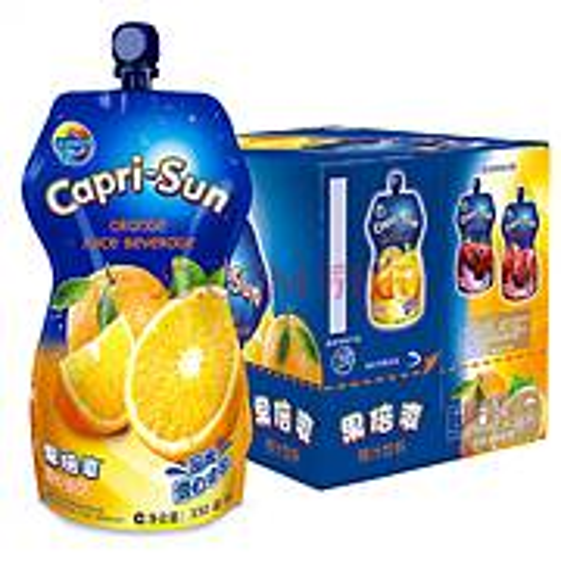 果倍爽 橙汁味少儿果汁饮料330ml*15(箱)