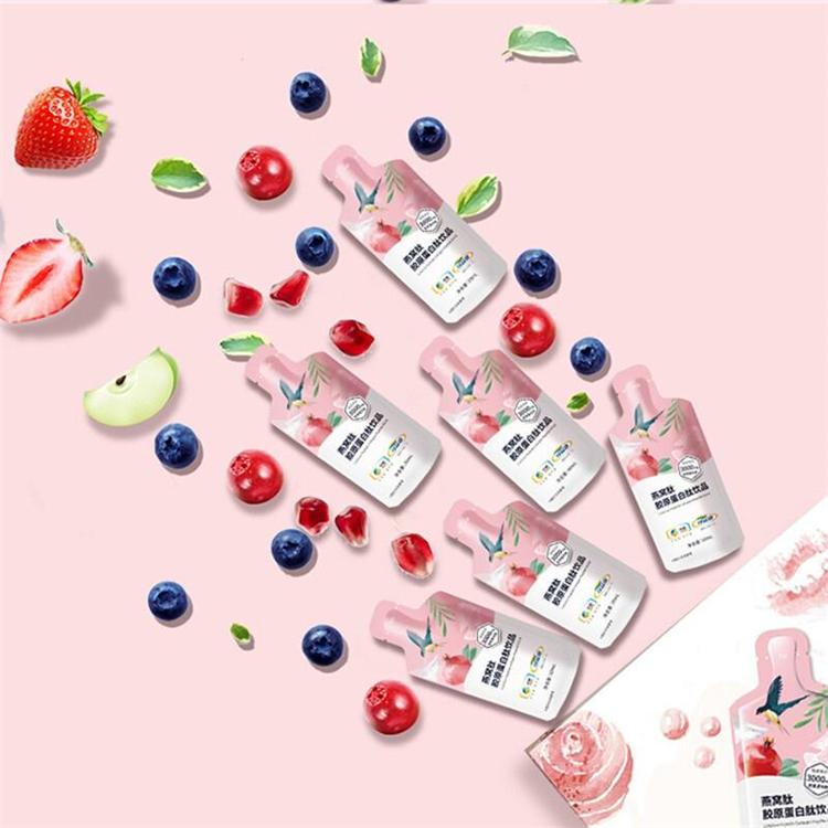 中粮可益康 燕窝肽胶原 蛋白肽饮品口服液30ml*10袋(单位:盒)