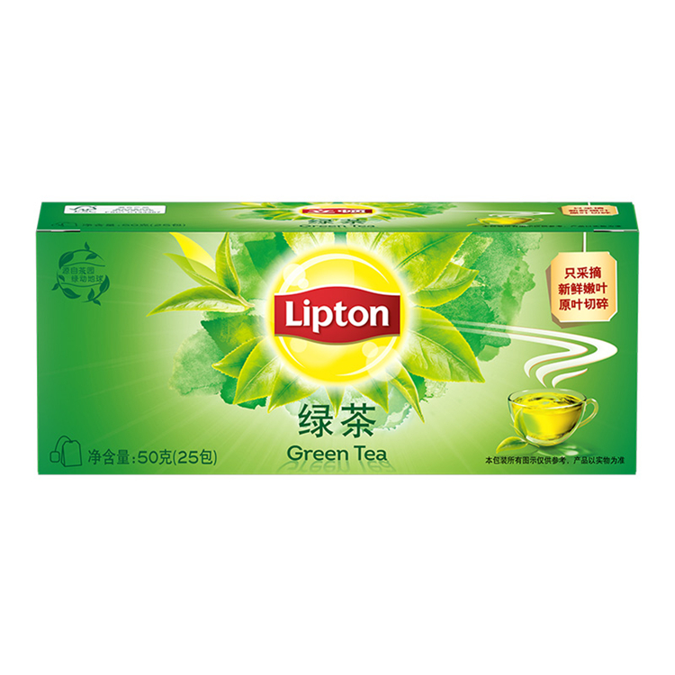 立顿S25绿茶2g*25(盒)