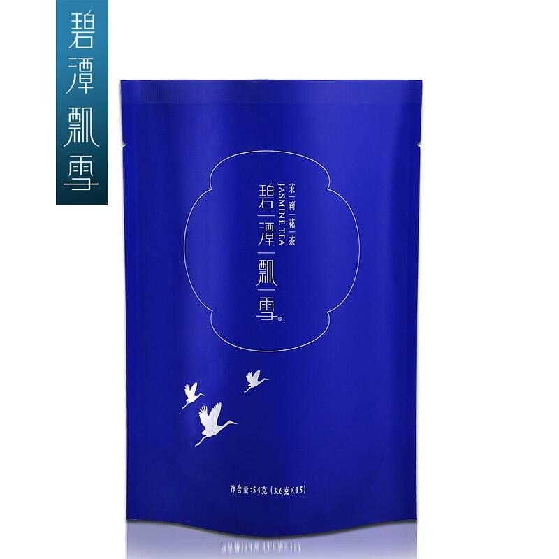 竹叶青 碧潭飘雪茉莉花茶54g/袋 (单位:袋)
