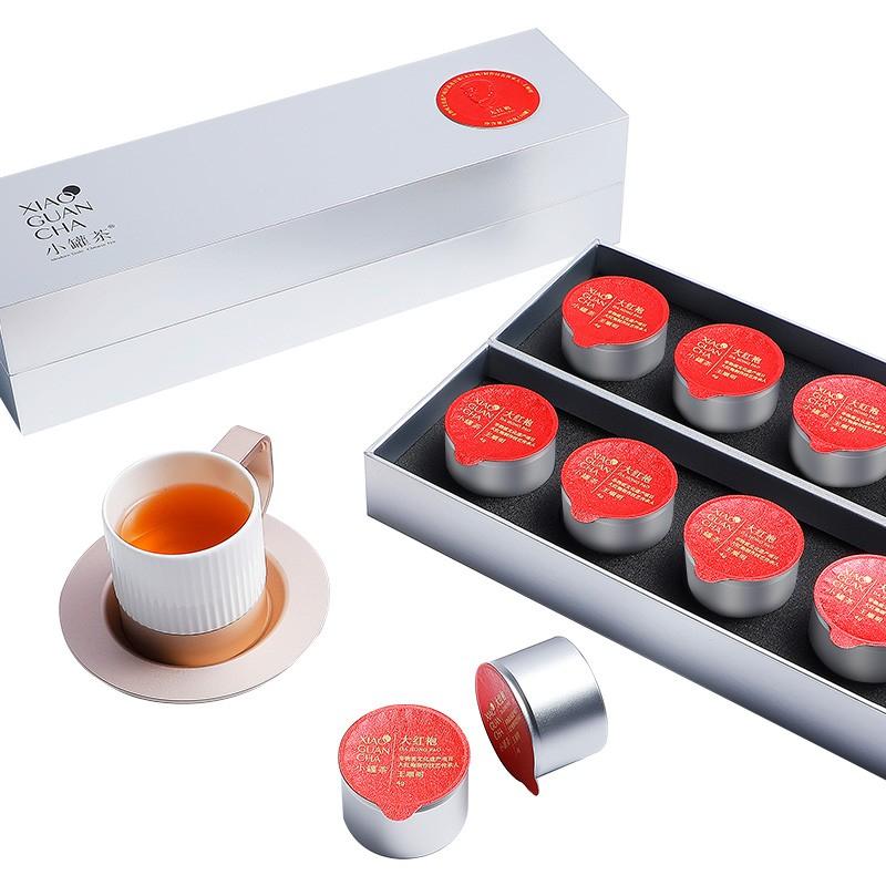 小罐茶 银罐大红袍4g(10个/盒)(盒)