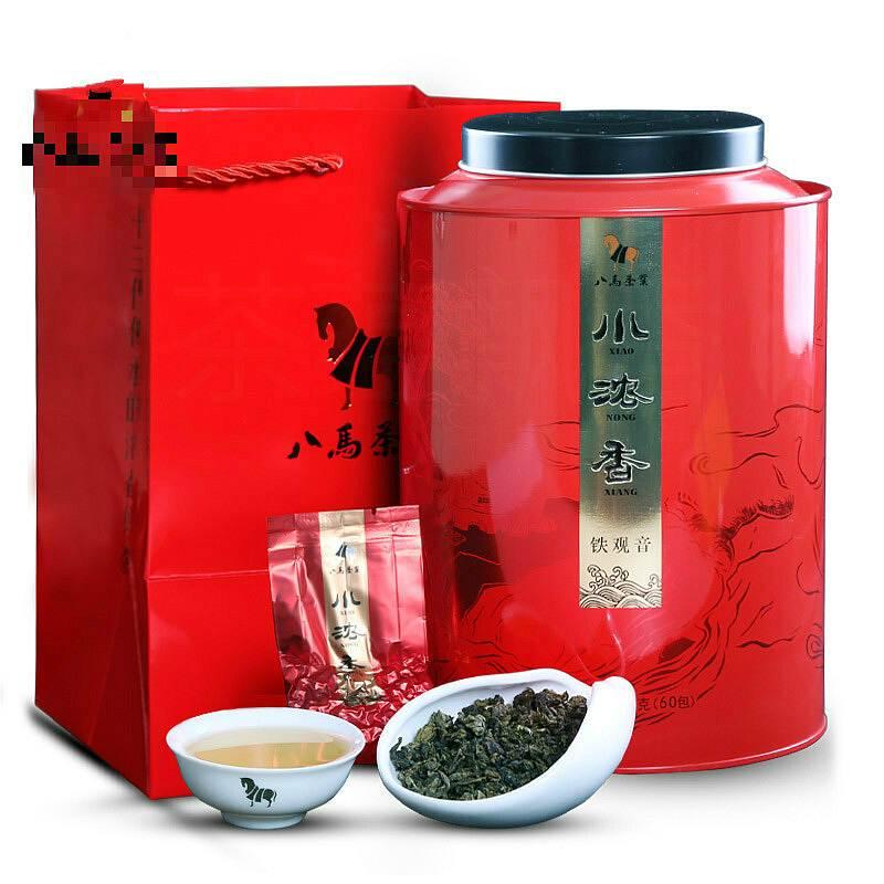 八马 AA2125 圆罐小浓香铁观音500克/罐(单位:盒)