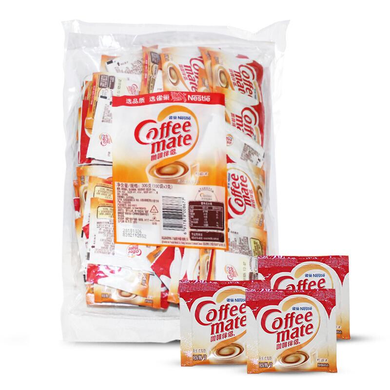 雀巢咖啡伴侣袋装 3g*100包 (单位:包)