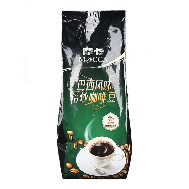 摩卡巴西风味焙炒咖啡豆454g/袋(袋)