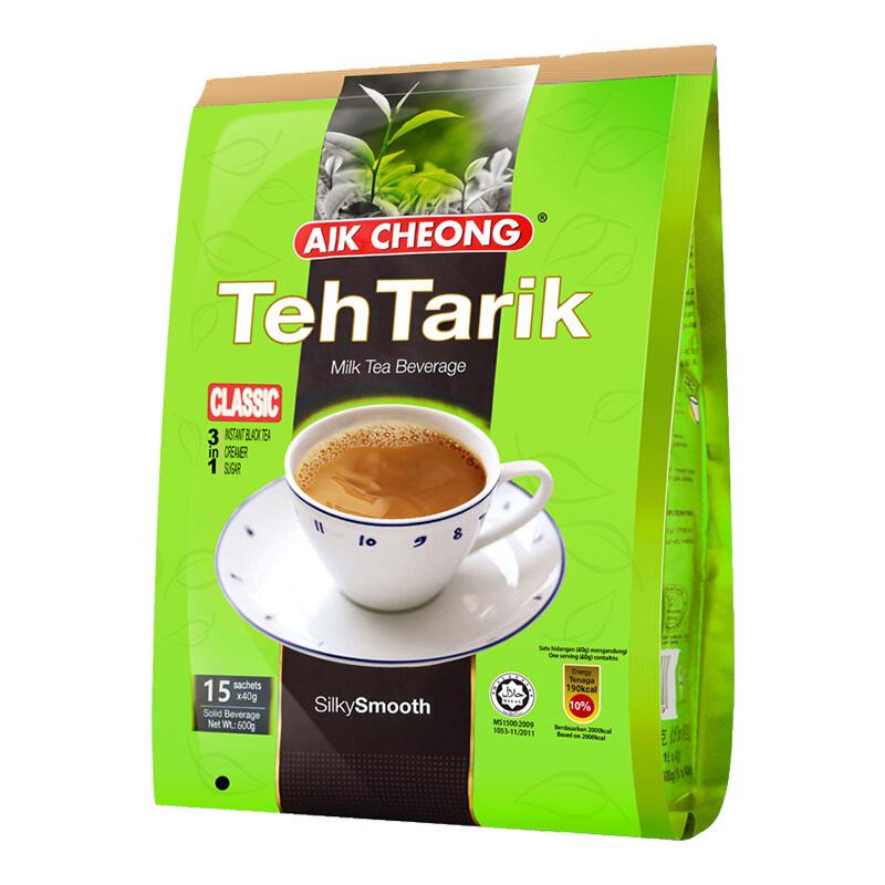 益昌老街马来西亚进口南洋风味袋装奶茶粉600g(袋)