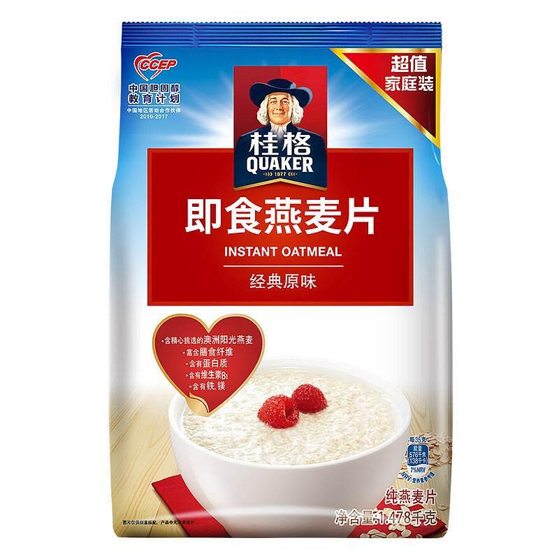 桂格 即食燕麦片 1478g (单位:袋)