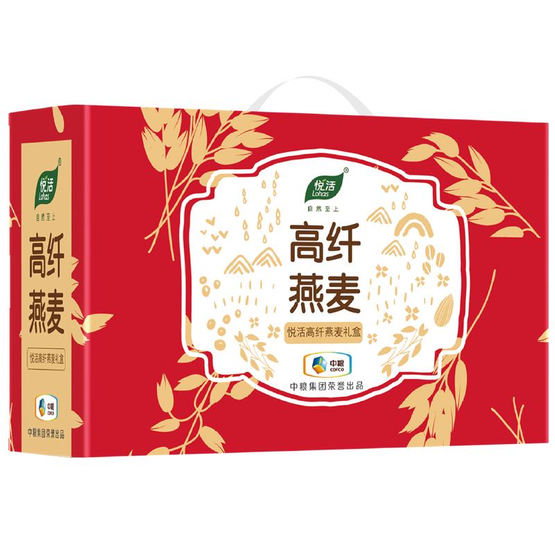 中粮悦活果蔬燕麦礼盒1300g(盒)