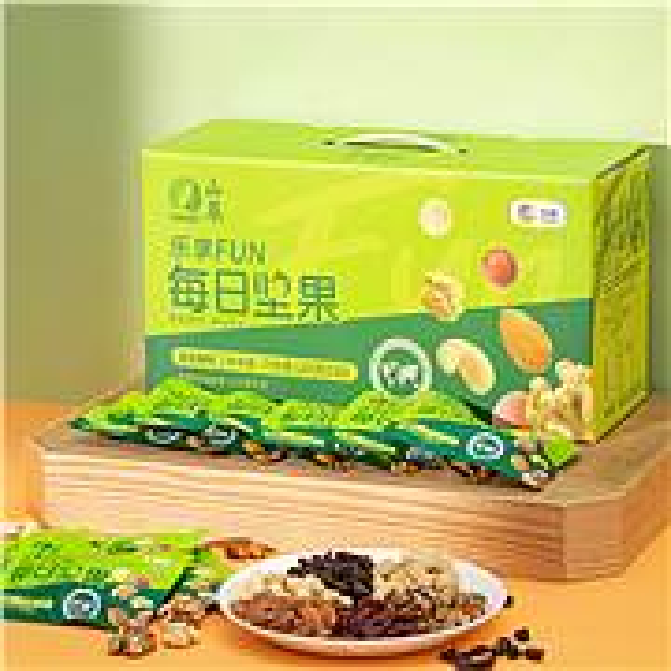 中粮山萃 乐享FUN混合坚果 每日坚果750g(单位:盒)
