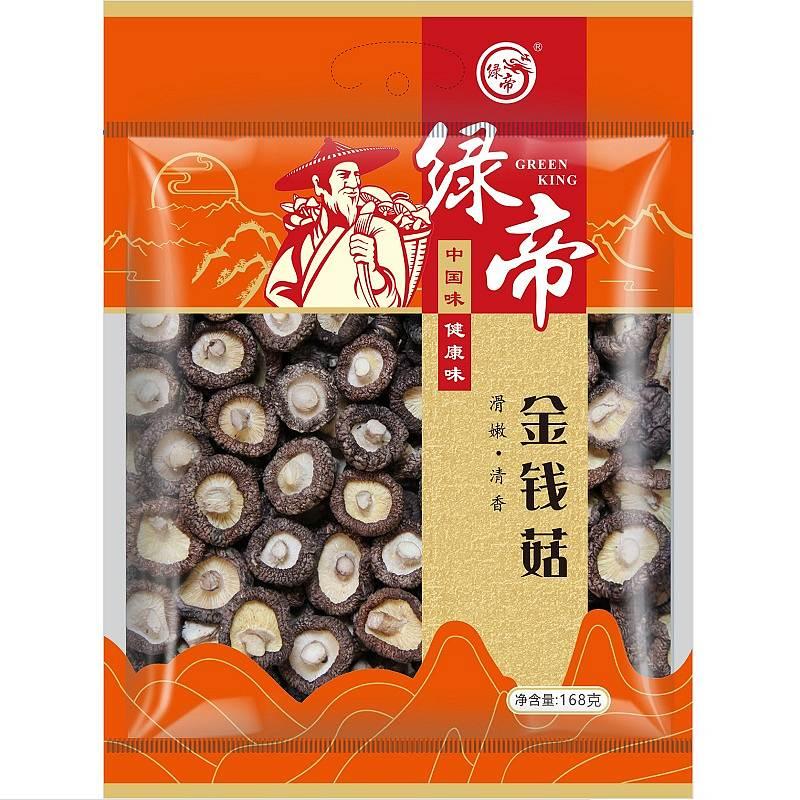 绿帝 金钱菇168g/16袋/箱 (单位:袋)