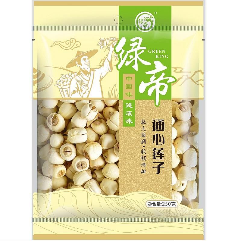 绿帝 通心莲子250g/16袋/箱 (单位:袋)
