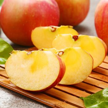 国产塞外红特级新疆阿克苏冰糖心苹果80-85mm/19-22粒/净重5kg(盒)