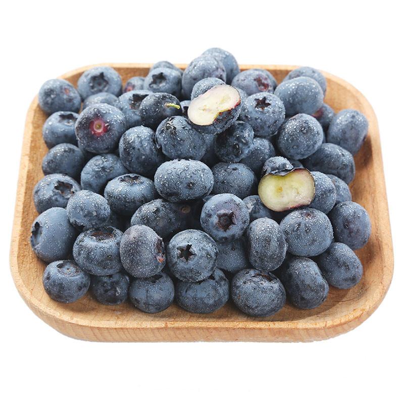 (WQ)智利蓝莓3盒约125g/盒大果(包)