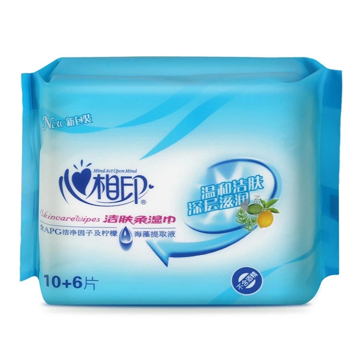 心相印 XCB010 湿巾 10+6片/包(单位:包)
