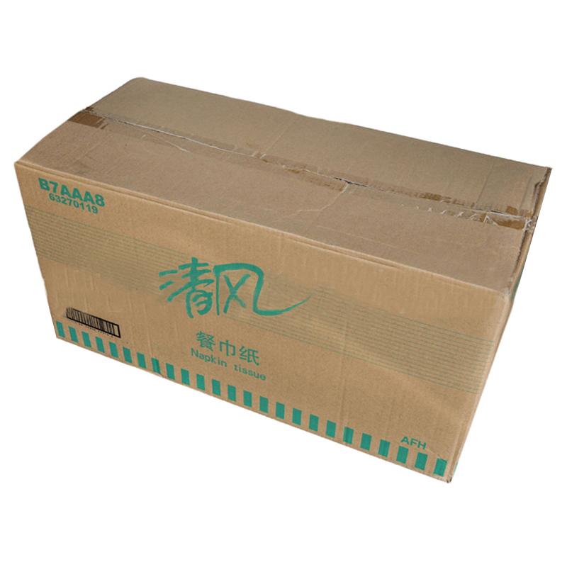 清风B7AAA8餐巾纸230*230mm100张/包72包/箱(箱)