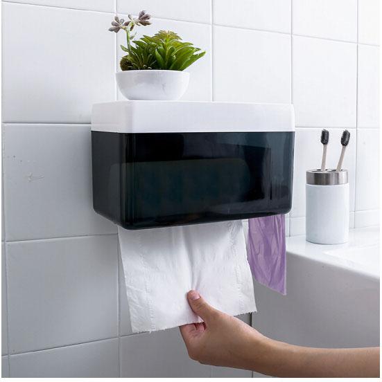优鹉 无痕免钉卫生间厕所纸巾盒 (个)