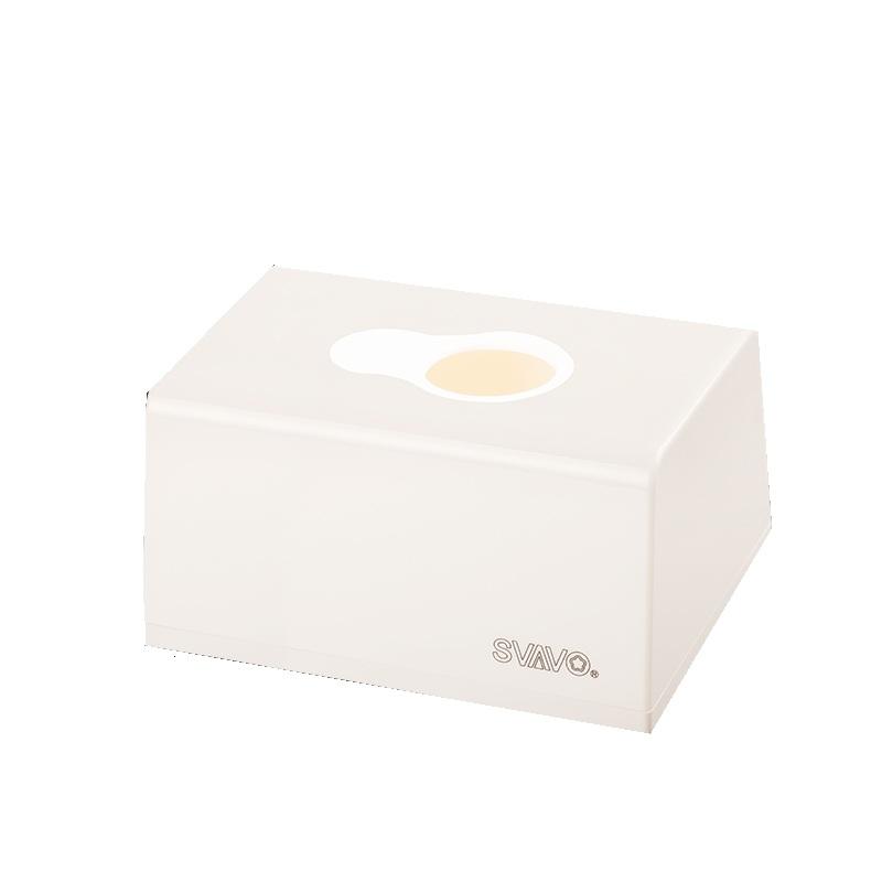 瑞沃 V-6002 小纸巾盒生活用纸配件  (单位:个) 白色