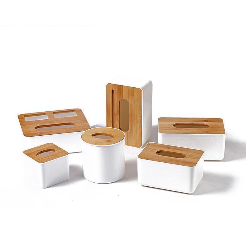 忒爱HW1377 定制木质纸巾盒 23*13*10 起订量1000(个)