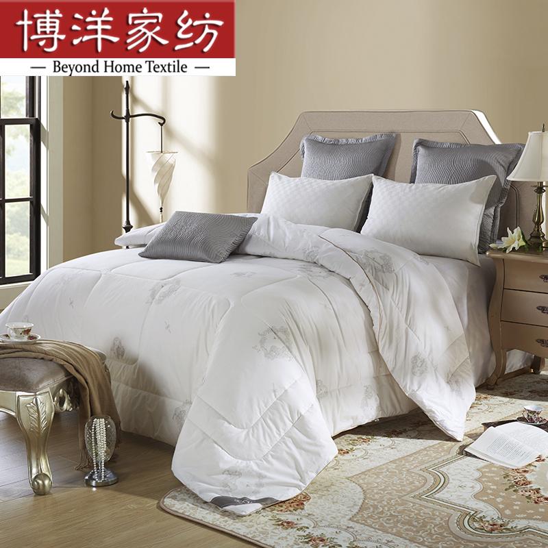 博洋家纺W91613271102温暖时光全棉羊毛被(适用于1.5米床)200*230CM(条)