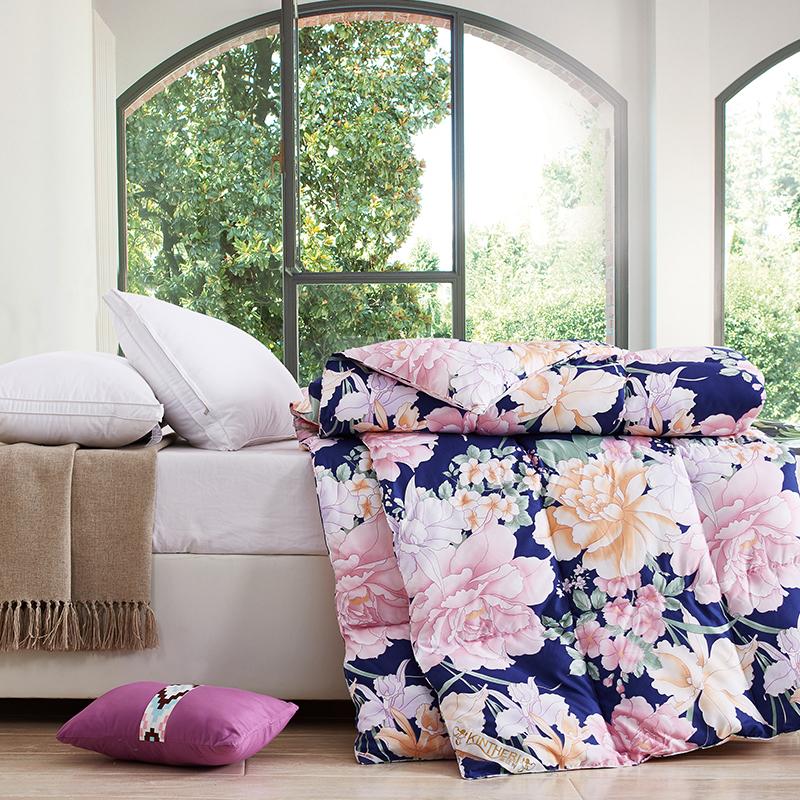 金丝莉家纺 JB-1000 图兰朵羽绒被 花卉(单位:床)