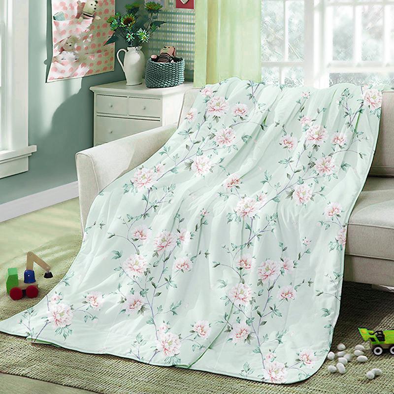 LOVO家纺VSQ1524-1春夏被花卉150x215cm(条)