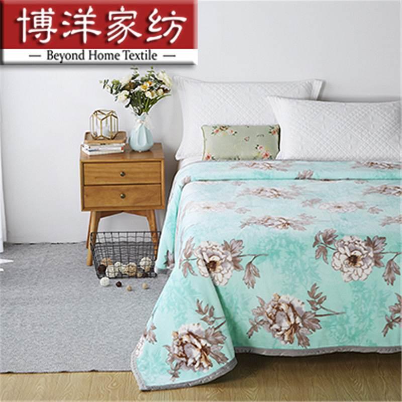 博洋家纺 家纺 X91716200201 貂狐绒手感毯 蕊180*200cm (单位:床)