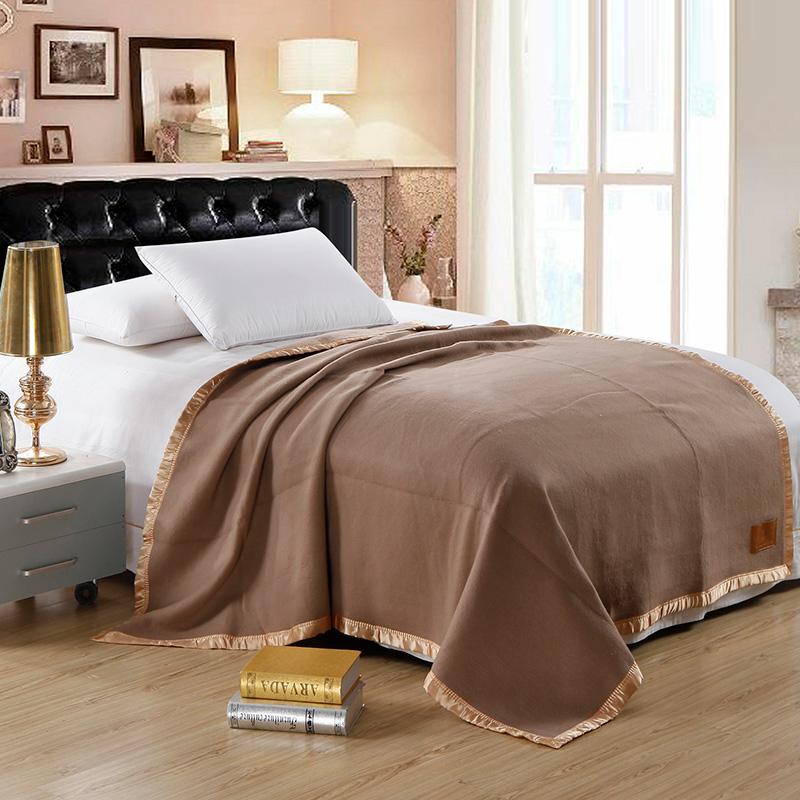 伊伊爱Y0JD02100028酒店专用羊绒毯子保暖盖毯180*220cm(条)