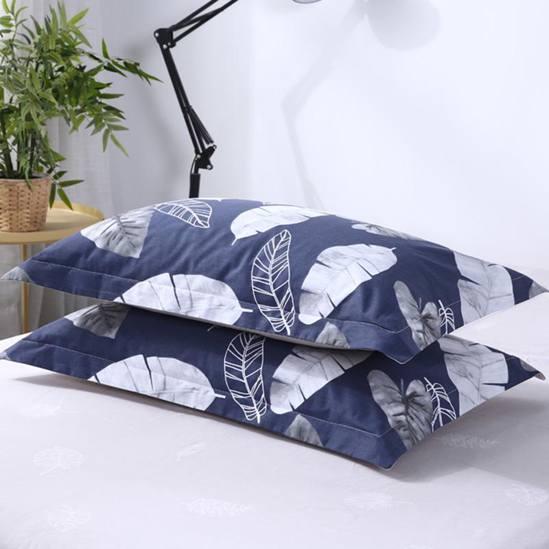 伊伊爱ZT-9CM-001纯棉印花单品枕套一对装48*74cm(对)