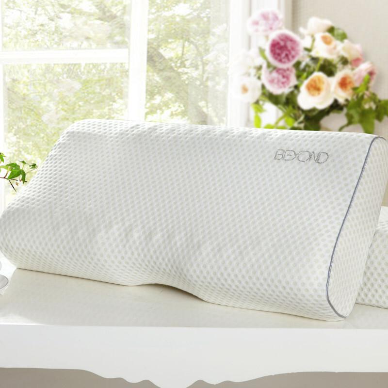 博洋家纺X91714300101安眠乳胶枕白60*30*12/9CM(个)