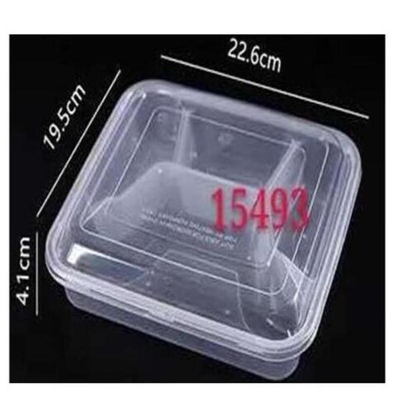 国产一次性餐盒(带盖子)4格(单位:套)