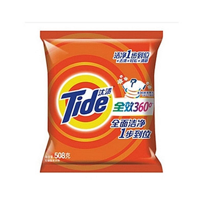 汰渍506g全效360度洗衣粉洁雅百合香型(袋) 洗衣粉