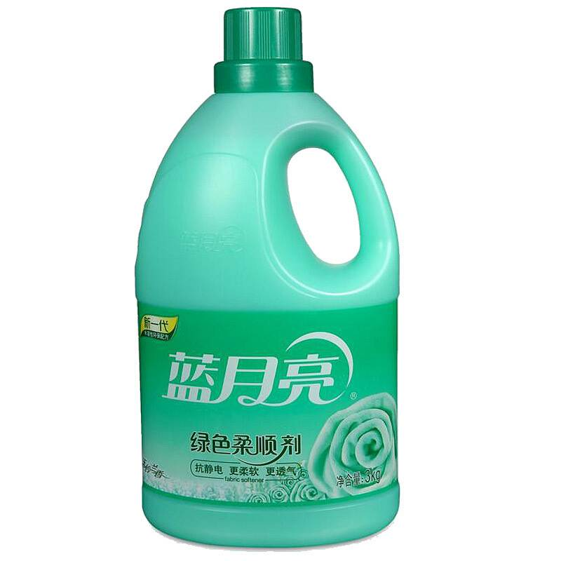 蓝月亮 玉铃兰绿色柔顺剂 3kg (单位:瓶)