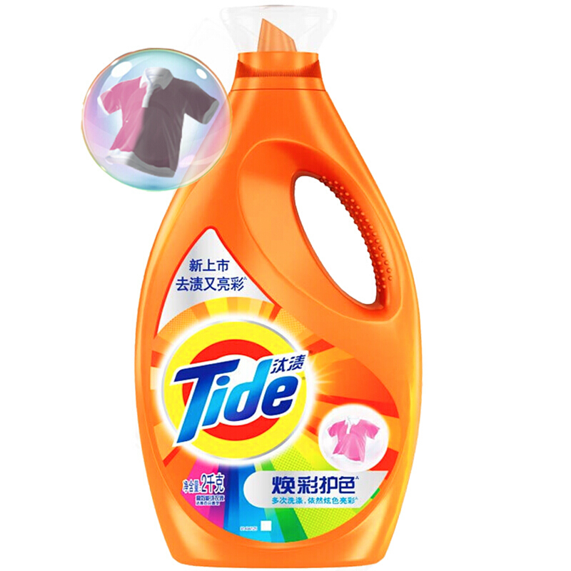 汰渍 焕彩护色洗衣液2kg (单位:瓶)