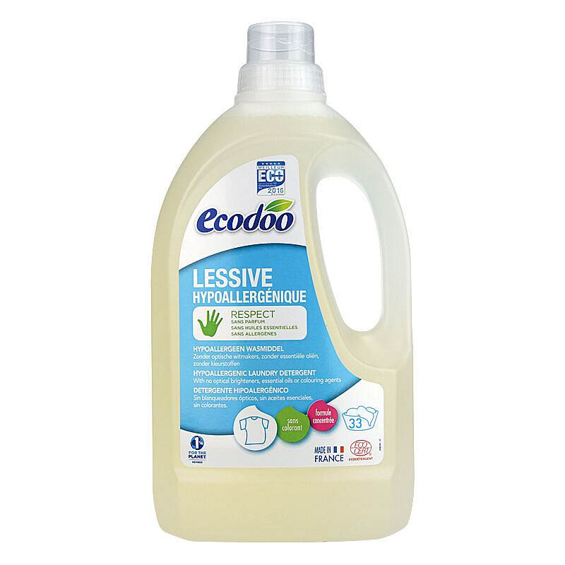 逸乐舒有机内衣及婴幼儿马赛洗衣液(无香)1.5L(瓶)