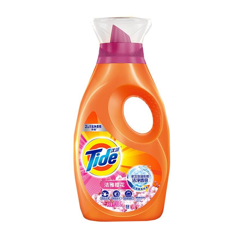 汰渍护衣防串色洗衣液(焕彩护色不怕洗)700G/瓶(瓶)