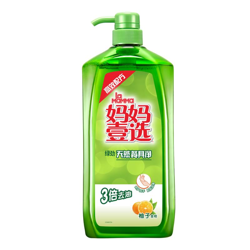 绿劲妈妈壹选洗洁精-柚子金桔2KG (单位:瓶)