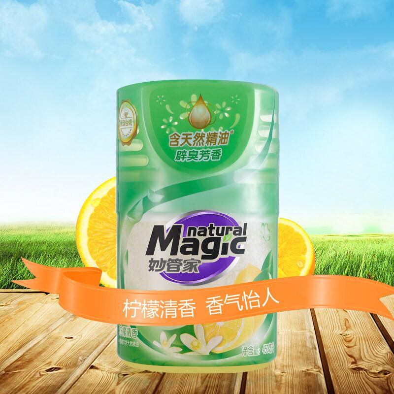 妙管家450ml柠檬清香液体芳香剂空气清新剂(单位:瓶)